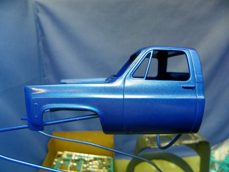 Big Blue Chevy Truck 100_0111