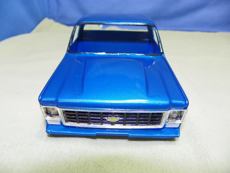 Big Blue Chevy Truck 100_0113