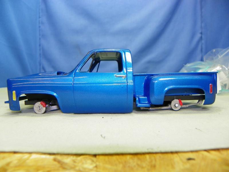 Big Blue Chevy Truck 100_0114