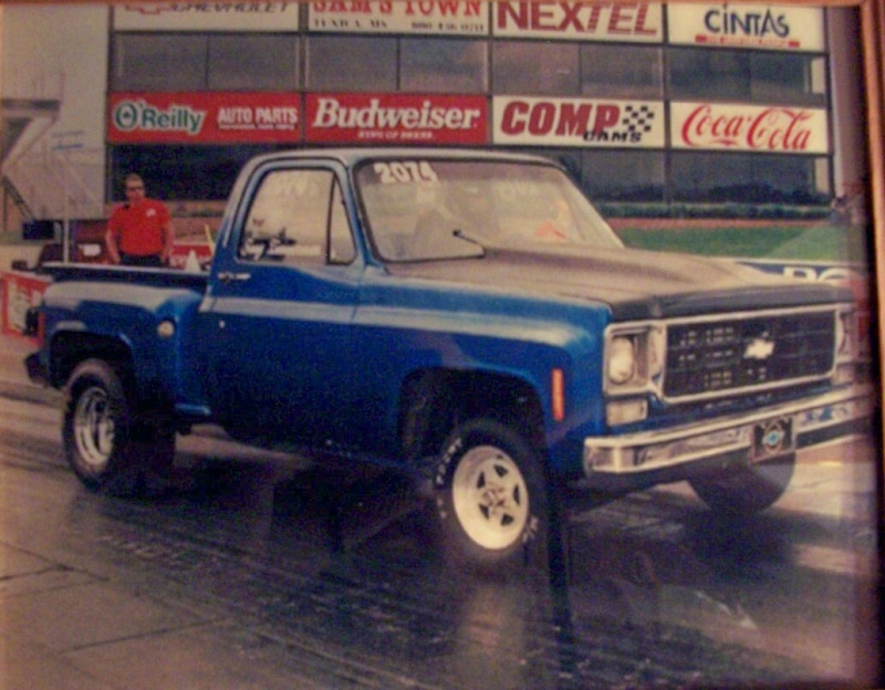 Big Blue Chevy Truck 100_5416