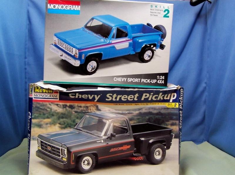 Big Blue Chevy Truck 100_5417