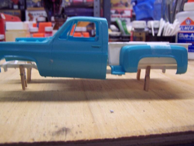 Big Blue Chevy Truck 100_5419