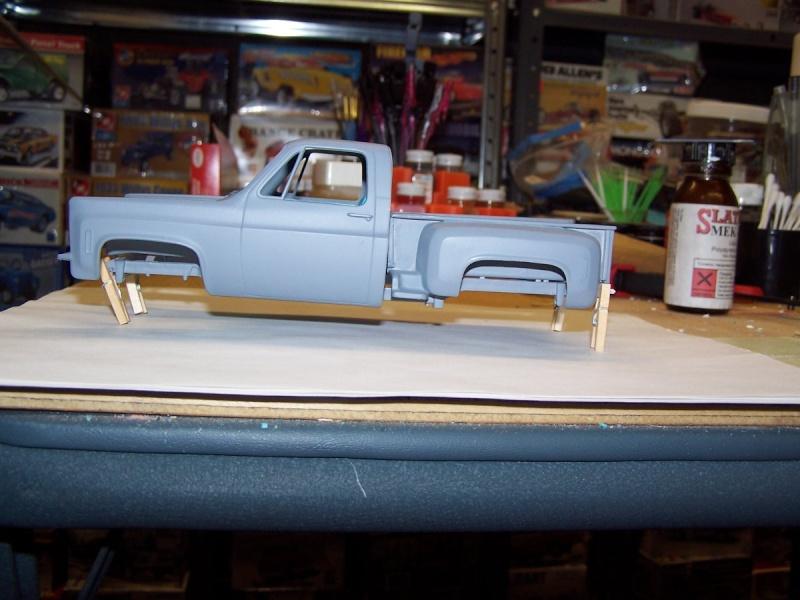 Big Blue Chevy Truck 100_5428