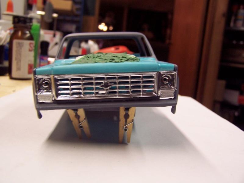 Big Blue Chevy Truck 100_5510