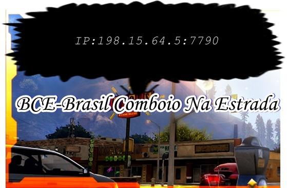 Brasil Comboio Na Estrada