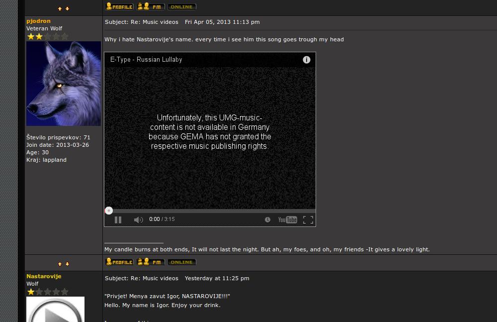 Music videos Screen12