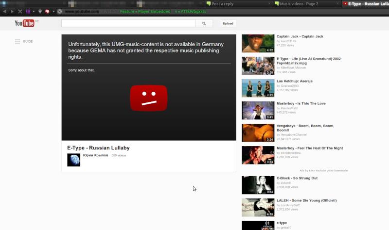 Music videos Screen13