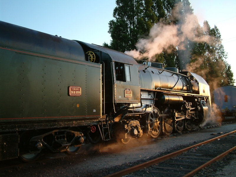 Les locomotives a vapeur echelle 1 0110