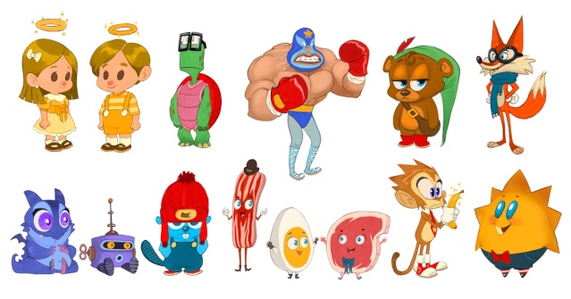 character Design - Cory Loftis Homele12
