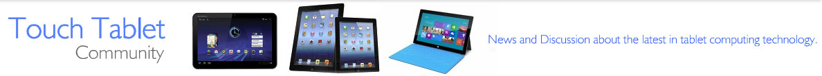 Touch Tablet Community