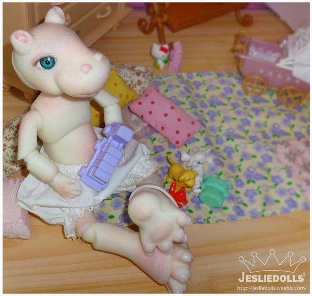 Jeslie Dolls •Leî-Lina petite boudeuse p.38  13/12 Ap102019