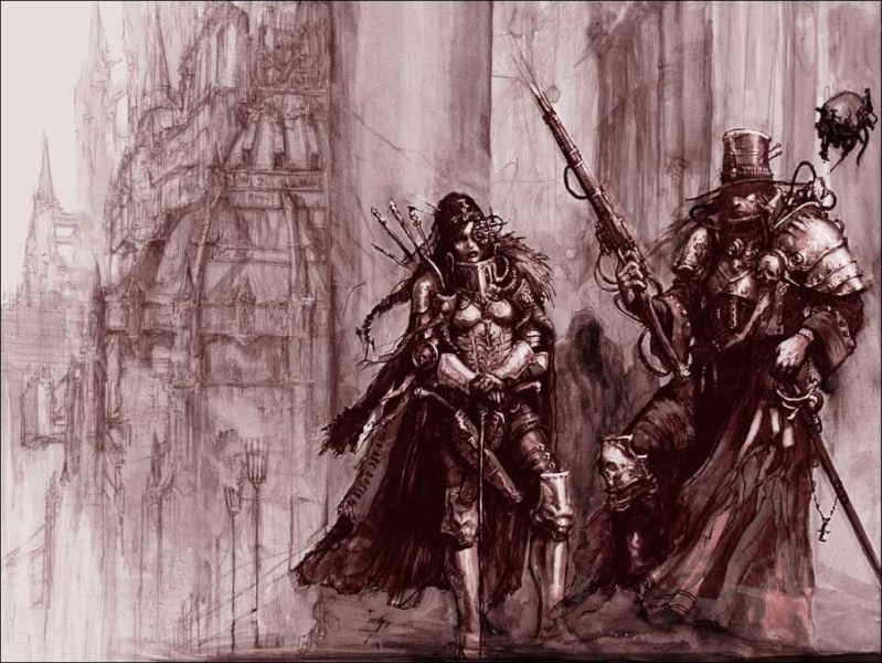 [W40K] Collection d'images : Inquisition/Chevaliers Gris/Sœurs de Bataille - Page 2 Hereti10