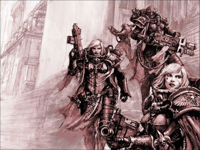[W40K] Collection d'images : Inquisition/Chevaliers Gris/Sœurs de Bataille - Page 2 Hereti11
