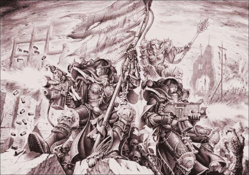 [W40K] Collection d'images : Inquisition/Chevaliers Gris/Sœurs de Bataille - Page 2 Hereti13