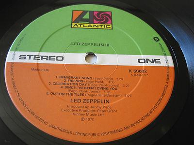 Led Zeppelin III 19068310