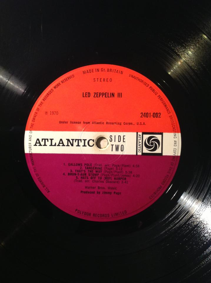 Led Zeppelin III 20770110