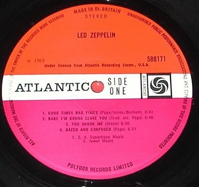 Led Zeppelin Kgrhqv10