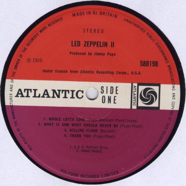 Led Zeppelin II R-132011