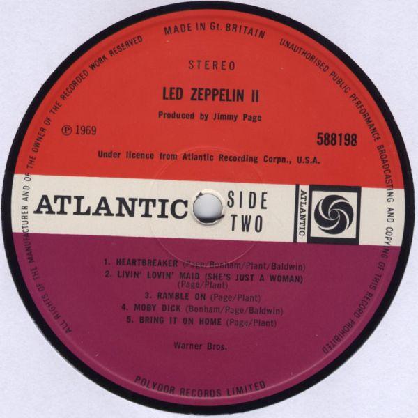 Led Zeppelin II R-132012