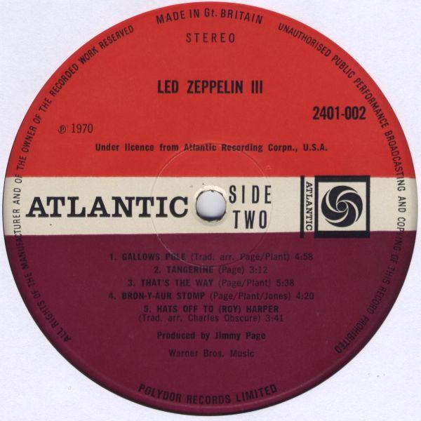 Led Zeppelin III R-132020