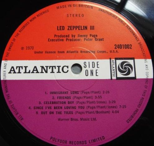 Led Zeppelin III R-201914