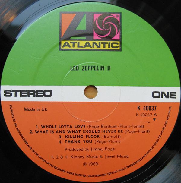 Led Zeppelin II R-290910