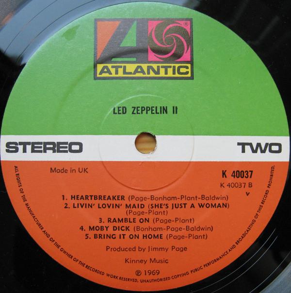 Led Zeppelin II R-290911