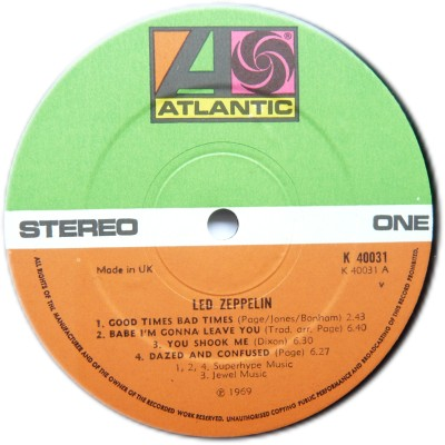 Led Zeppelin R-465912
