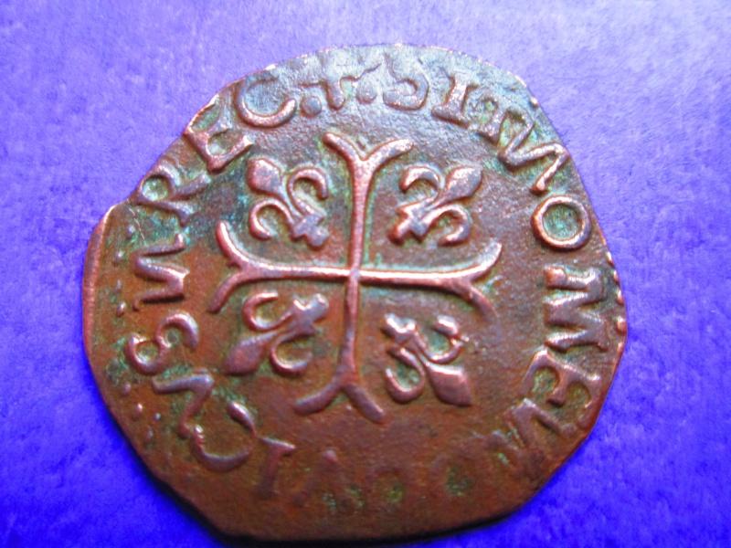 Faux d'époque d' un Douzain Huguenot sous Louis XIII. Img_0027