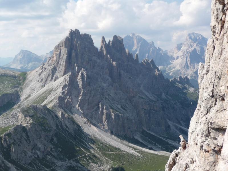 Il primo terzo grado in Dolomiti? Luigi, Santo e la Torre (chiude il Becco) P1090110
