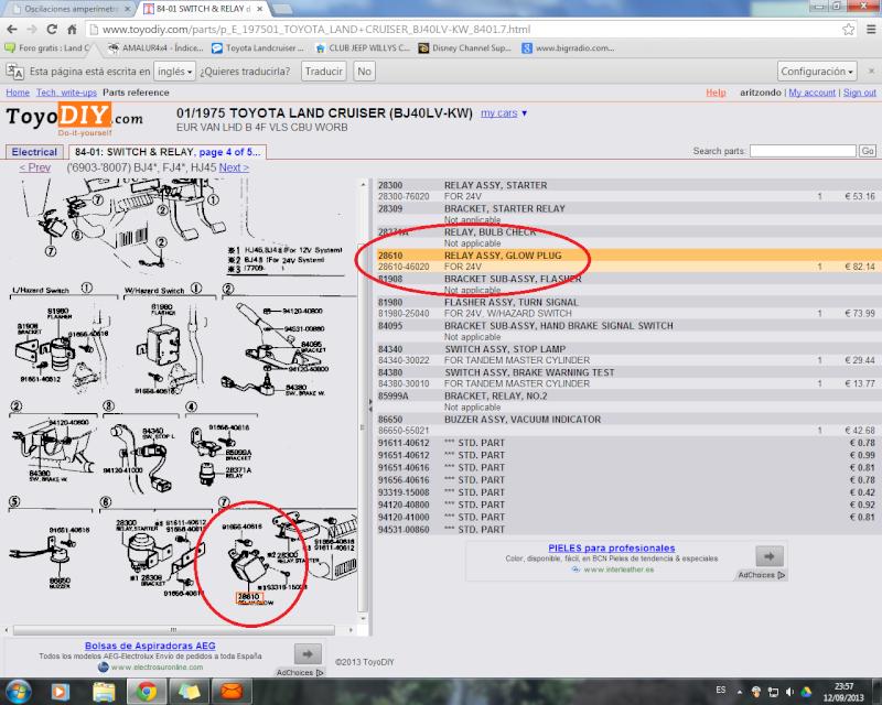 Oscilaciones amperímetro Rele_c10