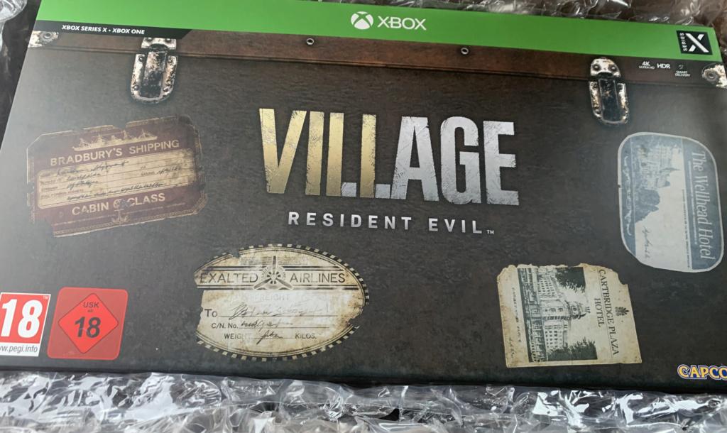 (VDS) Collector Resident Evil 8 village XBOX 269,99 baisse prix  Img_2719