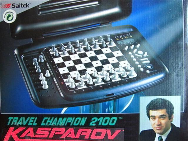 Saitek Kasparov Travel Champion 2100 Saitek13