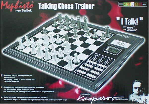 Mephisto  from Saitek : Talking Chess Trainer Talkin10