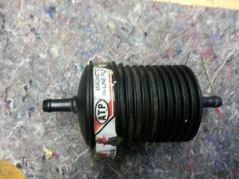 filtre a huile magnétique atf supplémentaire a quoi bon?  20130911