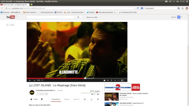 """[Vidéo] """"Lost Island"""" avec Slim, Raph, et Mathieu Poggi (2013) Captur10"""