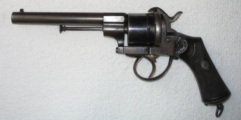 Revolver type Lefaucheux  Armes_10