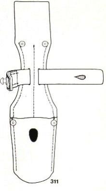 Gousset de baïonnette K98k S244G P-f_ma15
