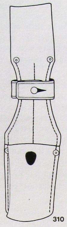 Gousset de baïonnette K98k S244G P-f_ma16