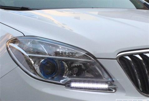 Montage feux de jour à LED sous le phare Opel Mokka Kgrhqm10