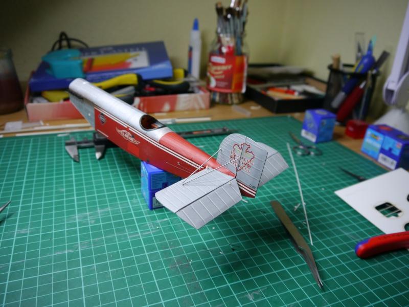 Flugzeughangar aus Karton P1000032