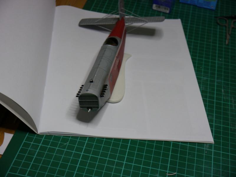 Flugzeughangar aus Karton P1000034