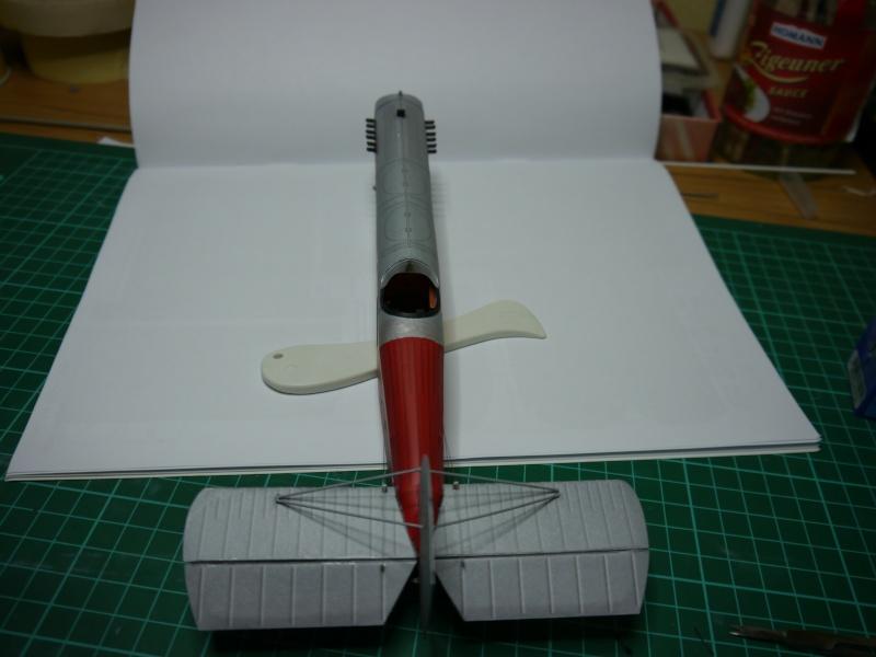 Flugzeughangar aus Karton P1000038