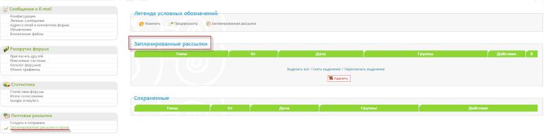 """Обновление на Forum2x2:  Шаблоны BB3 и Invision / Запланированные рассылки / Аватары в """"Последних сообщениях"""" Tuto_310"""