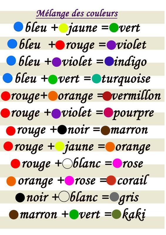 Associer et mélanger les couleurs entres elles! 038b5810