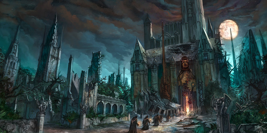 [lieu] Le cimetière et la Morgue House_10