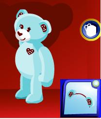 Cuddly Hearts Teddy Blue PSI B310