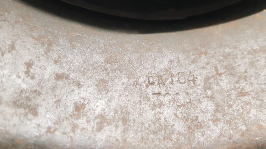Identification d'un code sur un casque allemand 20191124