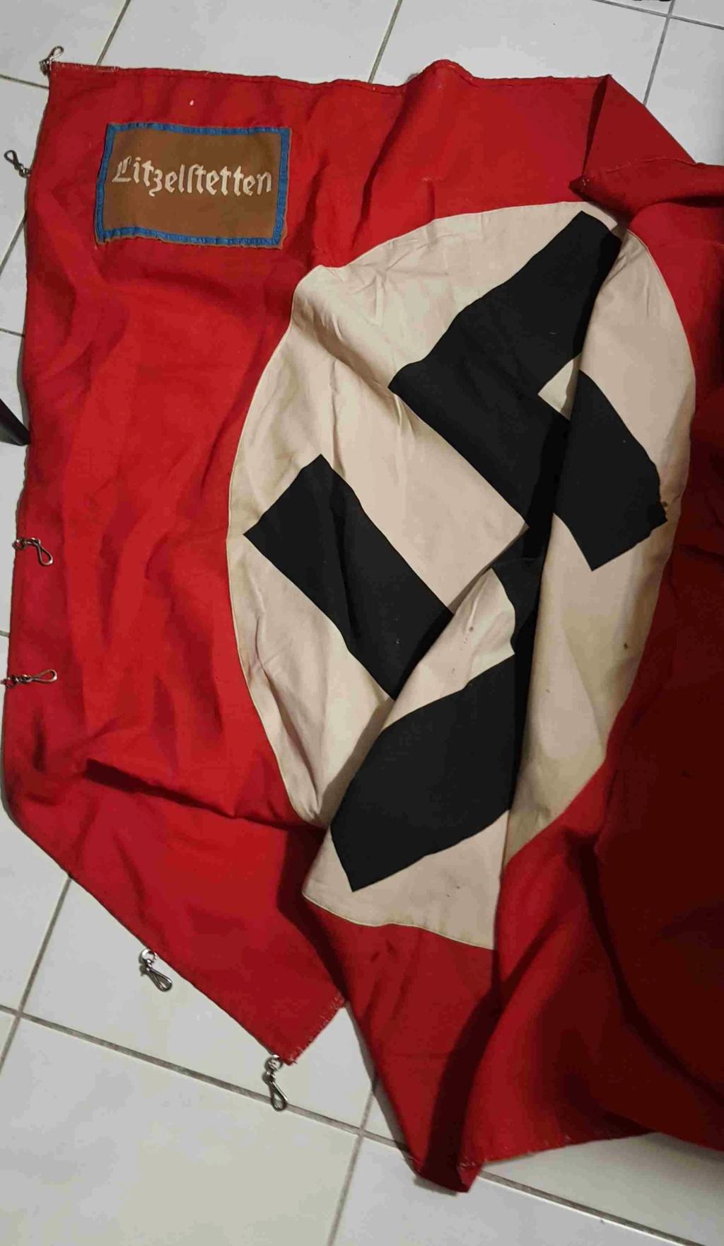 Drapeau NSDAP Ortsgruppe de la ville de Litzelstetten : estimation 20200828