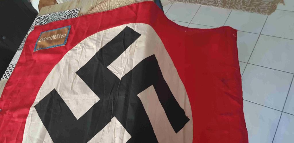 Drapeau NSDAP Ortsgruppe de la ville de Litzelstetten : estimation 20200842